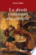 illustration Le droit commun du couple