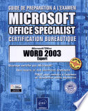 Microsoft Office Word 2003 expert