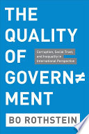 The Quality of Government