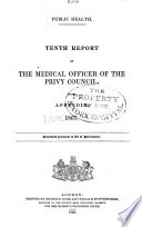 Reports Of The Medical Officer Of The Privy Council And Local Government Board Great Britain 1867