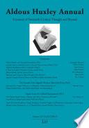 Aldous Huxley Annual  Volume 12 13  2012 2013