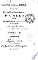 Esopo alla moda ovvero Delle favole di Fedro parafrasi italiana di Antonio Jerocades  Tomo 1  4