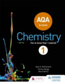 Aqa a Level Chemistry Year 1 Student Book