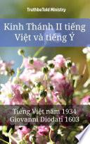 Kinh Thánh II tiếng Việt và tiếng Ý