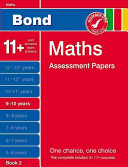 Bond Maths Assessment Papers in Maths 9 10 Years