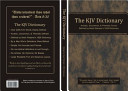 The KJV Dictionary In The Kjv Bible