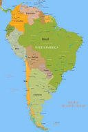 Map of South America Journal
