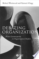 Debating Organization book