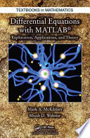 Differential Equations with MATLAB