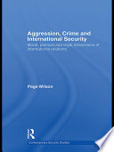 Aggression Crime And International Security