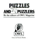 Owl s puzzles and puzzlers