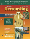 Glencoe Accounting: First Year Course, Chapters 1-29, Working Papers