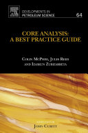 download ebook core analysis: a best practice guide pdf epub