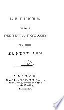 Letters From A Peeress Of England To Her Eldest Son