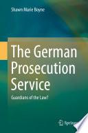 The German Prosecution Service