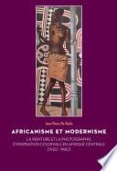 illustration Africanisme et modernisme