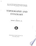 Topography and Itinerary