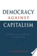 Democracy Against Capitalism