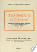 Das Volkslied in Österreich
