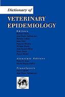 Dictionary of Veterinary Epidemiology