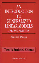 An Introduction to Generalized Linear Models, Second Edition