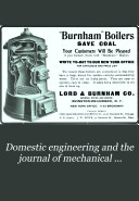 Domestic Engineering and the Journal of Mechanical Contracting
