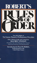 Robert s Rules of Order