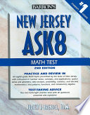 New Jersey Ask8 Math Test