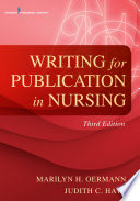 Writing For Publication In Nursing Third Edition