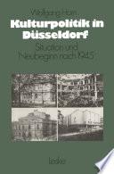 Kulturpolitik in Düsseldorf