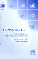 Human Rights: Universal instruments