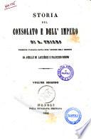 Storia del Consolato e dell Impero di A  Thiers