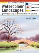 Take Three Colours  Watercolour Landscapes