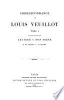 Correspondance de Louis Veuillot