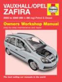 Vauxhall Opel Zafira Service And Repair Manual