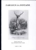 La Fontaine, Contes, Tome 1