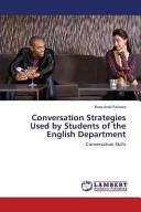 Conversation Strategies Used by Students of the English Department