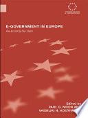 E-government in Europe
