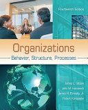 Organizations  Behavior  Structure  Processes