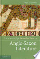 The Cambridge Introduction to Anglo Saxon Literature