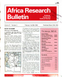Africa Research Bulletin