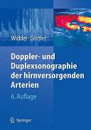 Doppler  und Duplexsonographie der hirnversorgenden Arterien