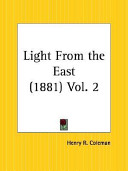 Light from the East 1881