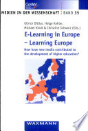 E Learning In Europe Learning Europe