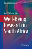 download ebook well-being research in south africa pdf epub