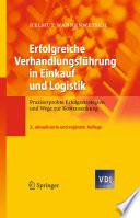Erfolgreiche Verhandlungsf  hrung in Einkauf und Logistik