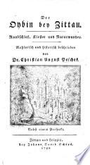 Der Oybin bey Zittau  Raubschloss  Kloster und Naturwunder     beschrieben von C  A  Peschek