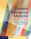 Geriatric Emergency Medicine : and disposition of this growing vulnerable patient...