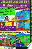 Comic Books For Kids Age 8   Comic Illustrations   Ninja Books For Boys   Kid Ninjas