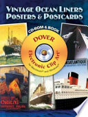 Vintage Ocean Liners Posters and Postcards CD ROM and Book